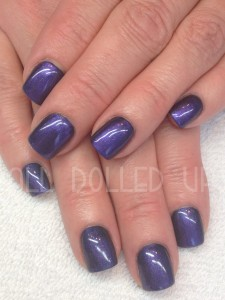 Raven Blue with Amethyst